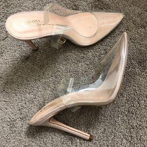 Clear Heels (Closed Toe)